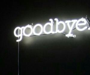 goodbye and sad image