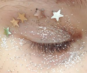 glitter, stars, and aesthetic image
