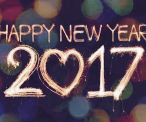 2017, happy new year, and new year image