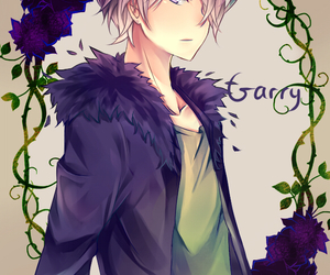 garry, anime, and ib image