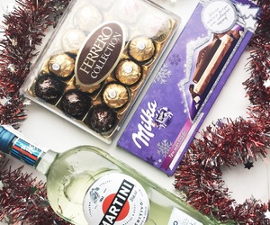 alcohol, chocolate, and fashion image