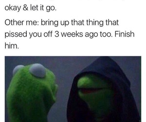 finish, funny, and kermit image