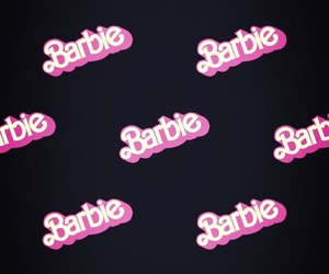 background, barbie, and black image