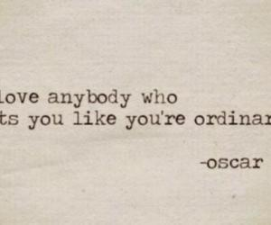 ordinary, love, and quote image