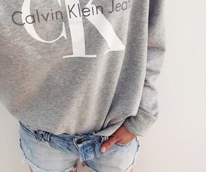 brand, Calvin Klein, and clothes image