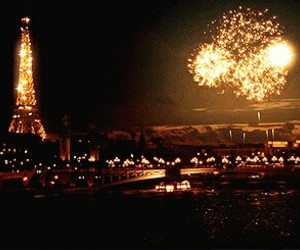 paris, fireworks, and light image