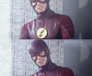 grant gustin, barry allen, and the flash image
