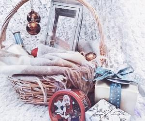 candle, christmas, and decor image