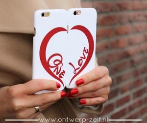 one love, ontwerp zelf, and hardcase image