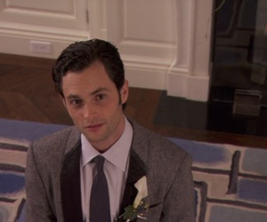 gossip girl, Penn Badgley, and screencaps image