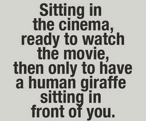 funny, giraffe, and movie image