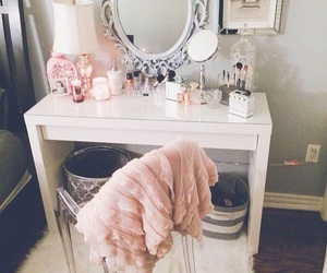 dressing table, fashion, and inspiration decoration image