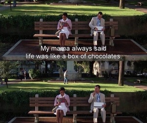 forrest gump, movie, and quote image