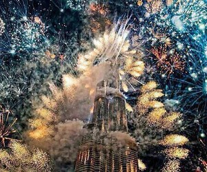 firecrackers, magical, and NYE image