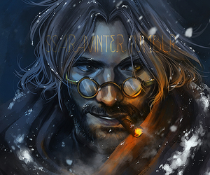 fanart, overwatch, and mccree image