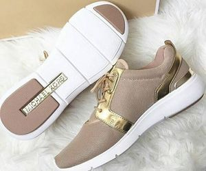 Michael Kors, gold, and shoes image