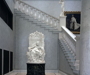 art, white, and statue image