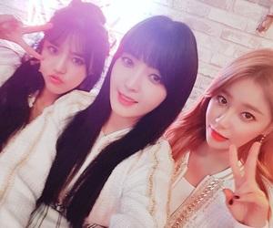 chanmi, hyejeong, and yuna image