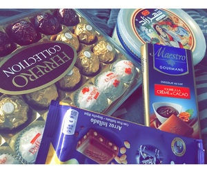 calories, new year, and lindt image