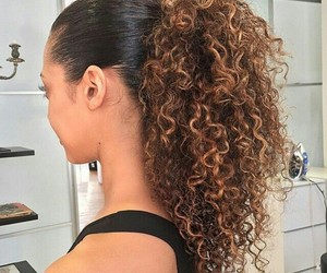 beauty, curls, and hair image