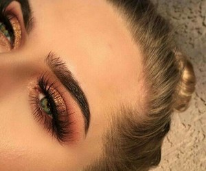 beautiful, eyebrows, and eyes image