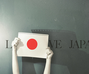 japan and love image
