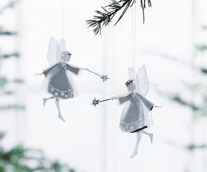 angels, christmas, and danish image