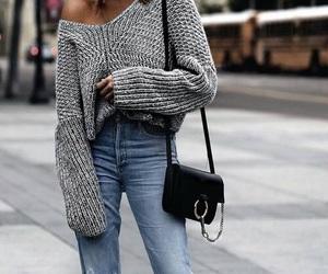 fall, girl, and fashion image
