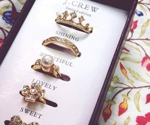rings, sweet, and lovely image