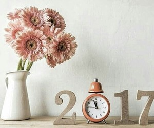 2017 and flowers image