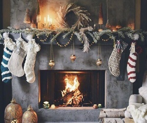 christmas, toys, and fire image
