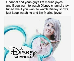funny, disney channel, and marina joyce image