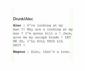 the mortal instruments, magnus+, and malec+ image
