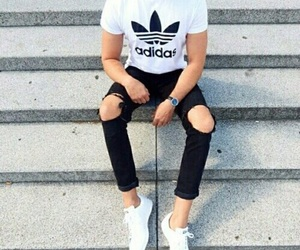 adidas, style, and tennis image