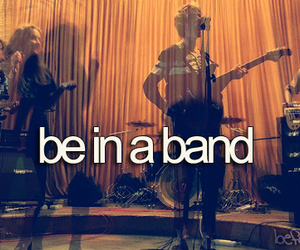 -things i want to do and -band image