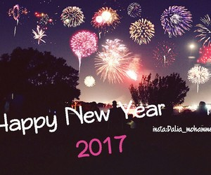 happy new year, holiday, and hello 2017 image