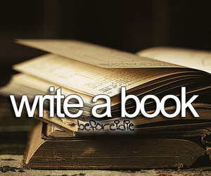 book, before i die, and write a book image