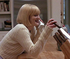 scream, 90s, and drew barrymore image