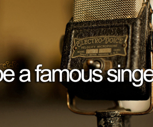 famous, singer, and before i die image