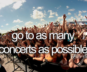-concert and -things i want to do image