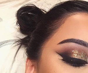 makeup, eyebrows, and goals image