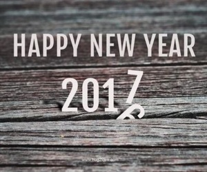 new year and 2017 image
