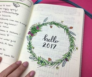 diary, hope, and new year image
