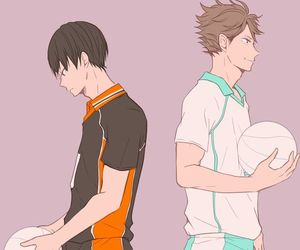 anime, haikyuu, and oikawa image