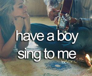 boy, love, and sing image