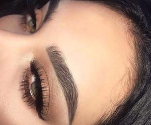 eyebrows, luxury, and eyelashes image