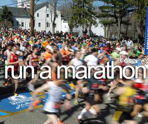 Marathon, before i die, and run image