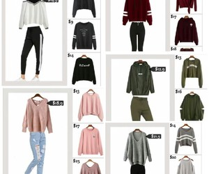 outfit, pullover, and sheinside image