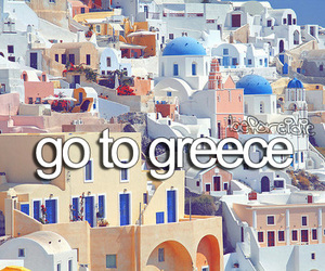 Greece, travel, and before i die image