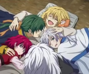 anime, zeno, and akatsuki no yona image
